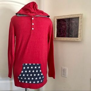 Old Navy / Youth / Henley Hoodie